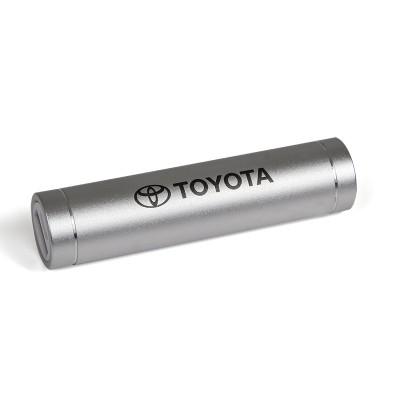 Powerbank 2200 mAh, zilver