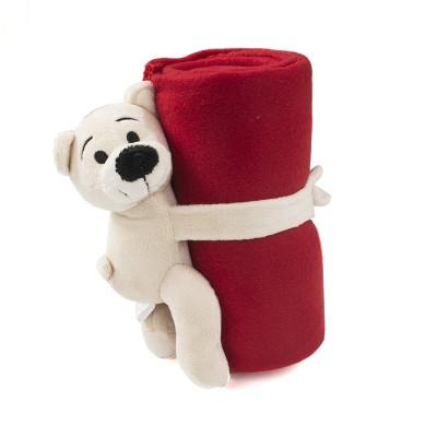 Fleece dekentje teddybeer - Kids