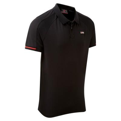 TOYOTA GAZOO Racing Lifestyle Poloshirt voor heren, zwart