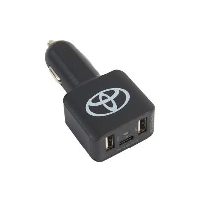 Autolader met 2 USB