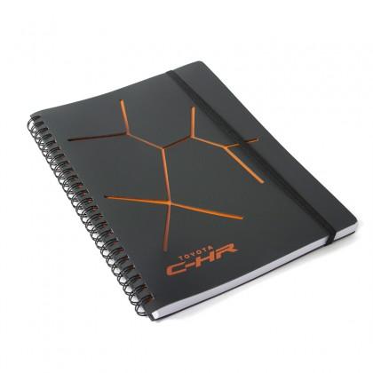 Toyota C-HR A5-notitieboek met uitgesneden design