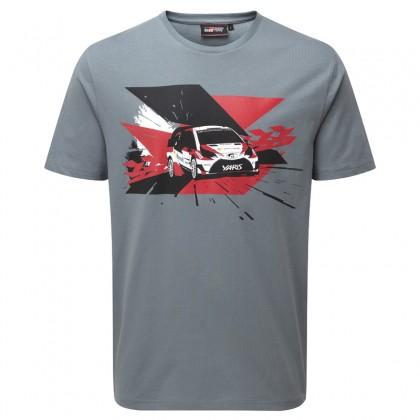 TOYOTA GAZOO Racing WRC-racewagen t-shirt