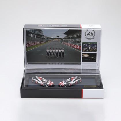 Le Mans podium modelwagenset schaal 1:43