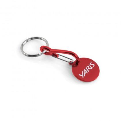 Yaris sleutelhanger met winkelwagenmunt