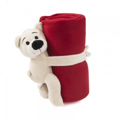 Fleece dekentje teddybeer - Kids