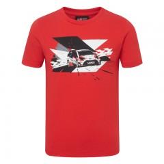 TOYOTA GAZOO Racing WRC-racewagen-t-shirt voor kinderen