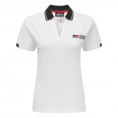 Witte TGR 18-polo voor dames