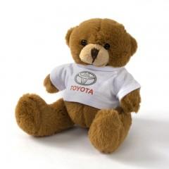Teddybeer met Toyota T-shirt